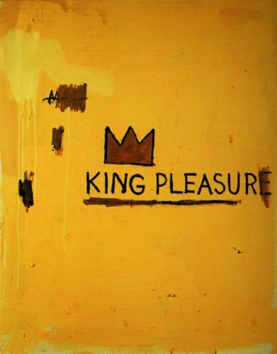 King Pleausure - Basquiat - Jaune