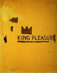 King pleasure, Jean-Michel BASQUIAT, 1987