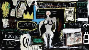 Mona lisa Basquiat