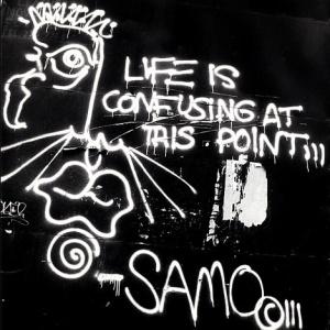 BASQUIAT -SAMO - Confusing - Mur