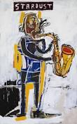 Basquiat -Stardust- Blanc