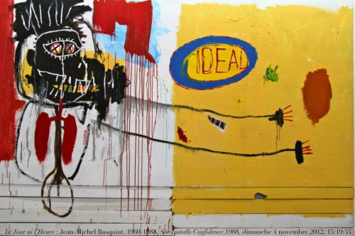Basquiat - Ideal - Jaune