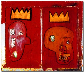 Basquiat-Red-Kings-1981-CAPITAINE solo